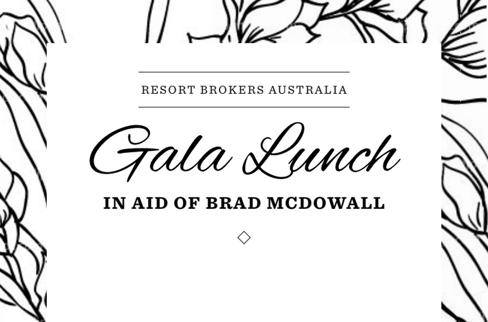 Gala Lunch in aid of Brad McDowall